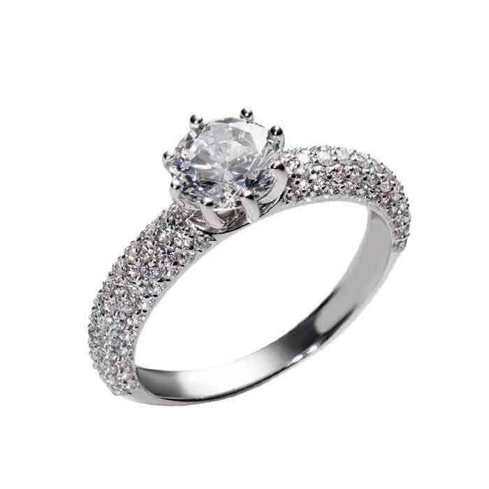 """Sužadėtuvių žiedas """"Teona"""""""