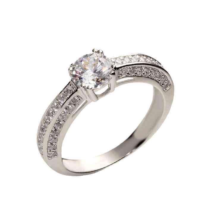 """Sužadėtuvių žiedas """"Madison"""""""