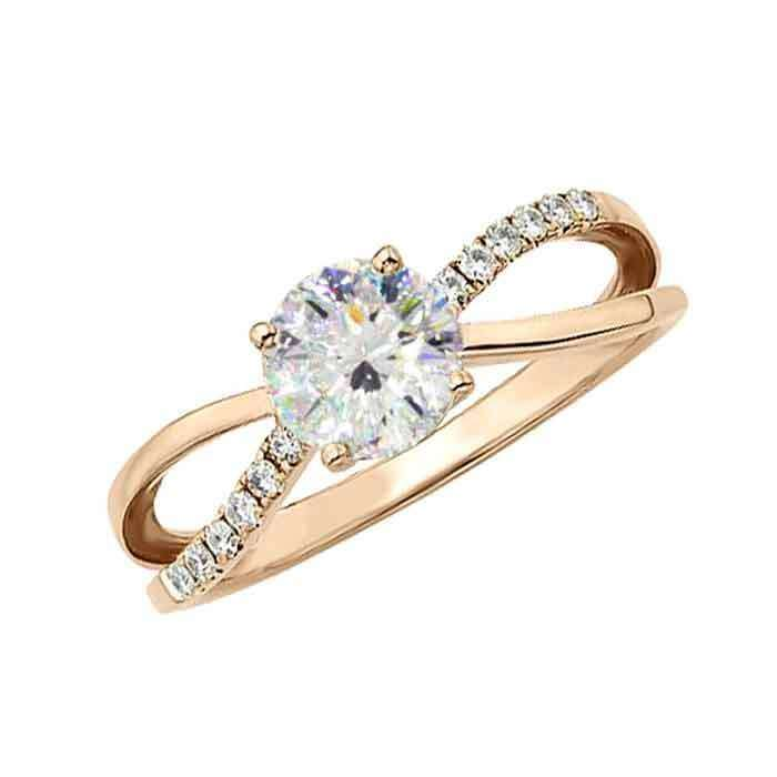 """Sužadėtuvių žiedas """"Augustina"""""""